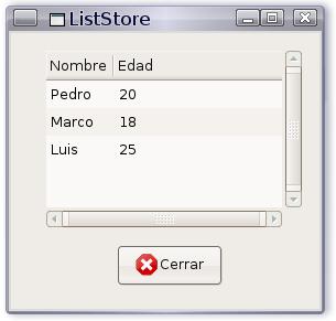 corrida liststore